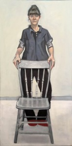 Self Portrait with Chair