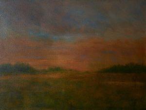 "Bill McLaughlin • <em>Last Light</em> • Oil on canvas • 32""×24"" • $750.00"