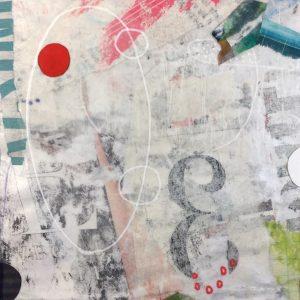 """Michele O'Brien • <em>3</em> • Collage • 5""""×5"""" • $95.00"""