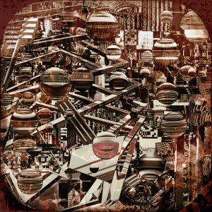 "James Spitznagel • <em>Like Trying to Remember a Dream</em> • Drawn, painted, digital • 16""×16"" • $250.00"