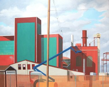 "<span class=""award_name"">2nd Place</span>Hope Zaccagni • <em>Blue Crane</em> • Oil on canvas • 30""×24"" • $1,500.00"