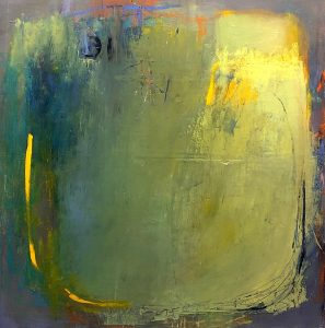 """Ileen Kaplan • <em>Vessel Series #1</em> • Oil, oil pastel, oil stick, graphite • 24""""×24"""" • $1,150.00<a class=""""purchase"""" href=""""https://state-of-the-art-gallery.square.site/product/ileen-kaplan-vessel-series-1/217?cp=true&sa=false&sbp=false&q=false&category_id=32"""" target=""""_blank"""">Buy</a>"""