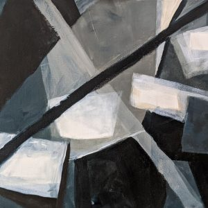 """Diana Ozolins • <em>Four Floating Squares</em> • Acrylic on canvas • 18""""×14"""" • $450.00 • <a class=""""purchase"""" href=""""https://state-of-the-art-gallery.square.site/product/diana-ozolins-four-floating-squares/318"""" target=""""_blank"""">Buy</a>"""