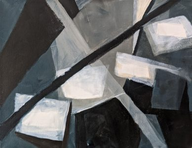 """Diana Ozolins • <em>Four Floating Squares</em> • Acrylic on canvas • 18""""×14"""" • $450.00<a class=""""purchase"""" href=""""https://state-of-the-art-gallery.square.site/product/diana-ozolins-four-floating-squares/318"""" target=""""_blank"""">Buy</a>"""
