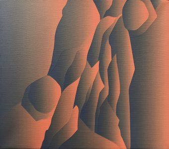 Frances Fawcett • <em>Cave Light</em> • Acrylic on canvas • NFS