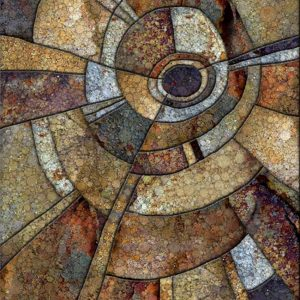 """Daniel McPheeters • <em>Bontecou Inclusion</em> • Mixed media on panel • 17""""×24"""" • $200.00 • <a class=""""purchase"""" href=""""https://state-of-the-art-gallery.square.site/product/daniel-mcpheeters-bontecou-inclusion/335"""" target=""""_blank"""">Buy</a>"""