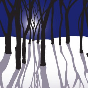 "Margaret Nelson • <em>Moon Tree Shadows</em> • Digital print • 16""×12"" • $150.00"