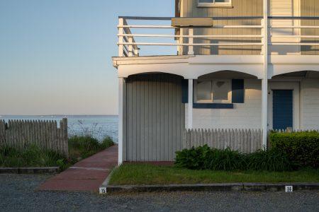 "Harry Littell • <em>The Tides Motel, Falmouth</em> • Archival digital print • 28""×21"" • $475.00"