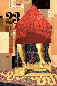 """Patricia Brown • <em>Plum, House Home Series #19</em> • Metal print • 18""""×24"""" • $149.00"""
